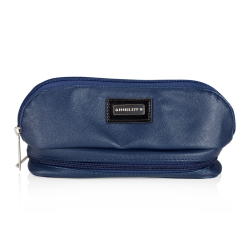 Cosmetic Bag Dark Blue with Mirror (R23388) icon